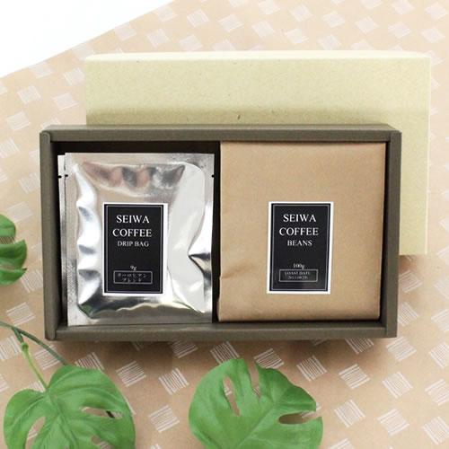 コーヒー豆とドリップバッグ ギフトパッケージ