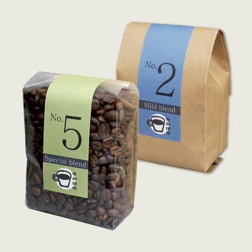 コーヒー オリジナルパッケージ
